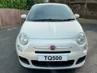 Fiat 500 1.2 Sport, 2013, Funk Pearl White, only 40295 miles, Petrol, Manual