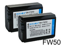 2PC Battery for Sony NP-FW50 2NP-FW50 3rd. party make