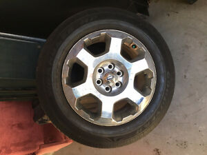 "FORD F-150 20"" Factory Rim and Tire"