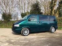 2001 51 VOLKSWAGEN CARAVELLE T4 2.5 TDI 102 SWB 8 SEATER DRAGON GREEN IMMACULATE