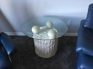 Two end tables