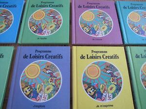Collection vintage complète (20) «Programme de loisirs créatif