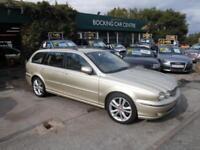 Jaguar X-TYPE 2.5 V6 auto 2007 SE 4X4 ESTATE FULL LEATHER EXCELLENT