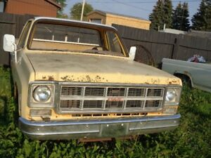 1977 GMC sierra grande pickup  and  parts