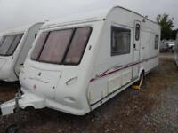 2004 4 berth fixed bed Elddis Odyssey 534 caravan for sale