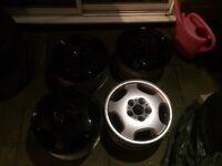 """16"""" 5x112 Alloy wheels"""