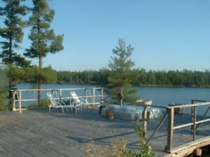 Fall and winter camps available Private area on the French River