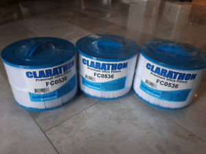 3 Clarathon Premium Ultra Filter Brand New Sealed Pool Filter .