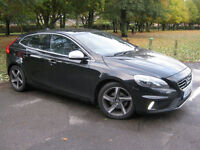 2013 13 REG Volvo V40 1.6 D2 ( 115bhp ) Nav ( s/s ) R-Design Lux