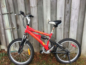 Boys Infinity 6 speed bike