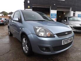 Ford Fiesta 1.25 2007 Zetec Climate 80000 MILES DRIVE AWAY TODAY!