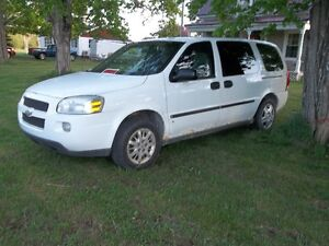 2006 Chevrolet Uplander Minivan,Sale or trade for 1/2 ton truck