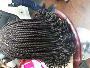 Box braids..African hair braiding