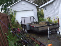perfect trailer for landscaping etc.