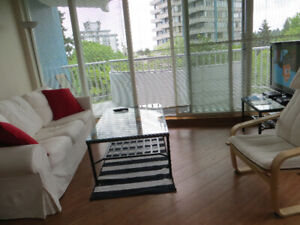 1 BEDROOM FURNISHED VIEW APARTMENT AT UBC's Gate, Point Grey