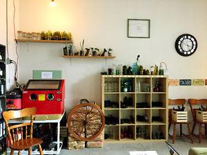 Local commercial à partager (artiste verrière ou bijoutier)