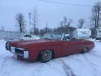 Pontiac Parisienne 1967 decapotable LOWRIDER suspension a air