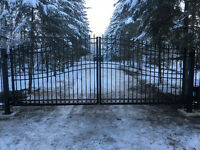 Ornamental Driveway Gates and Operators