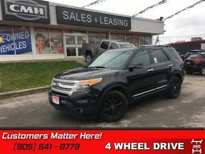 2013 Ford Explorer XLT   4X4, LEATHER, SUNROOF, HEATED SEATS, 7