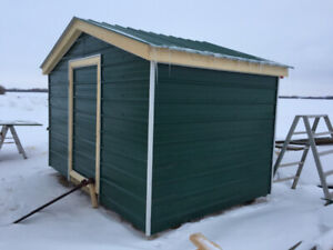Metal Shed - 8 x 12 $2,500 - Will Build Other Sizes