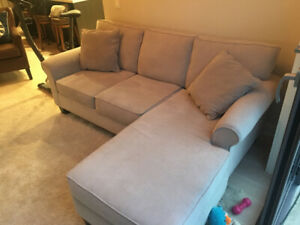 One year old sofa for sale