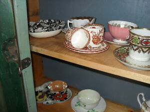 #greenspotantiques old china, limoges, paragon, shelley, royal A