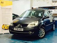 RENAULT SCENIC 1.6 VVT ( 111bhp ) DYNAMIQUE 6 SPEED FULL SERVICE HISTORY