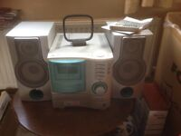 Aiwa stereo cd cassette and radio
