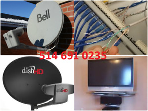 Satellite & Câblage , Installation Réparation