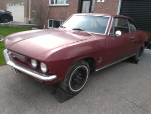1966 Chevy Corvair for Restoration/Parts