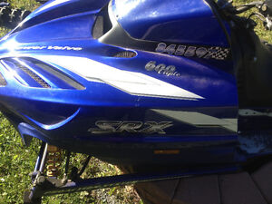 1999 Yamaha SRX 600 Chassis and Parts