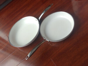 Two Lagostina Frying Pans for Sale