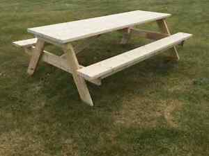 Picnic table. Very sturdy