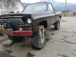 Lifted 79 Chevy 4x4