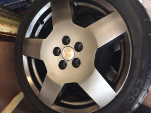 Cobalts SS Rims and Tires