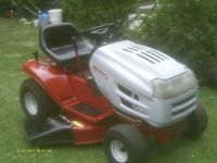 WHITE OUTDOORS   RIDING LAWNMOWER