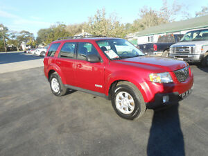 2008 MAZDA TRIBUTE 5 DOOR SUV, WARRANTY INCLUDED