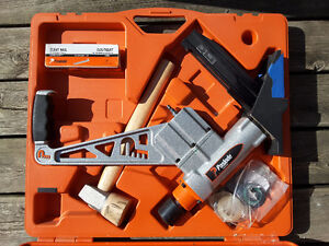 Paslode 2 in 1 Flooring Stapler and Cleat Nailer with Bonus
