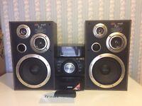 SONY GENEZI MINI HI FI CD MP3 TUNER IPOD PLAYERS