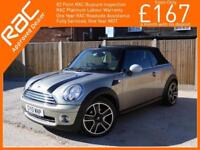 2010 MINI Convertible 1.6 Convertible 6 Speed Auto Electric Soft Top Chili Pack