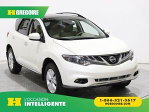 2014 Nissan Murano SL AWD A/C GR ELECT CUIR TOIT OUVRANT CAMERA