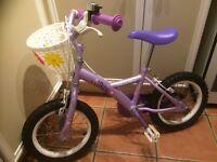 Girls bike - good condition