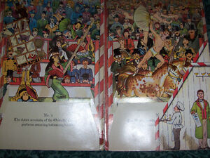 Vintage Circus Children's book London Ontario image 2