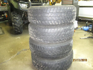 4 Winter tires 195/60R/15