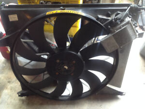 2002 ML500 radiator fan