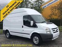2011/ 11 Ford Transit 100 T350m High Roof [ Mobile Workshop+Compressor ] Van