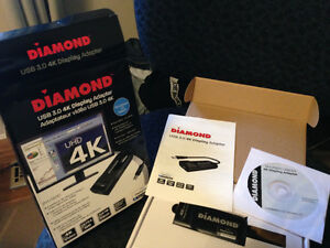 Diamond BVU5500 USB 3.0 to Displayport Adapter
