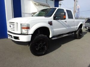 "2008 Ford F-350 FX4 Crew Diesel, 8"" In Lift, 37"" Tires, DPF Dele"
