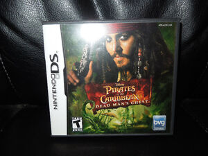 Pirates of the Carribean: Dead Man's Chest  Nintendo DS Game