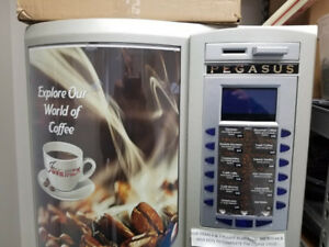 Coin operated coffee machine